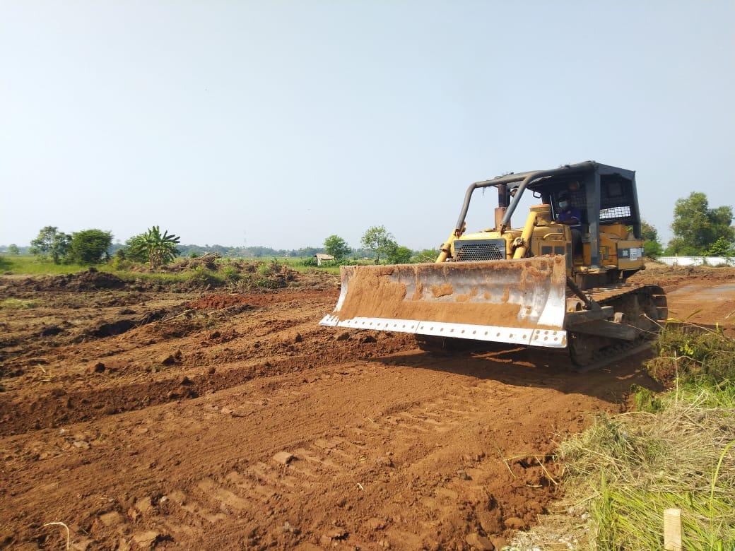 *Pembangunan Gedung OPD di Puspemkab Serang Dimulai*