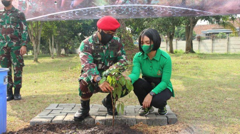 Mengurangi Dampak Covid-19, Grup 1 Kopassus Tanam 13.000 Pohon Penghijauan