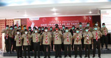 Lawan Covid-19, Pramuka Diminta Edukasi Masyarakat Kabupaten Serang