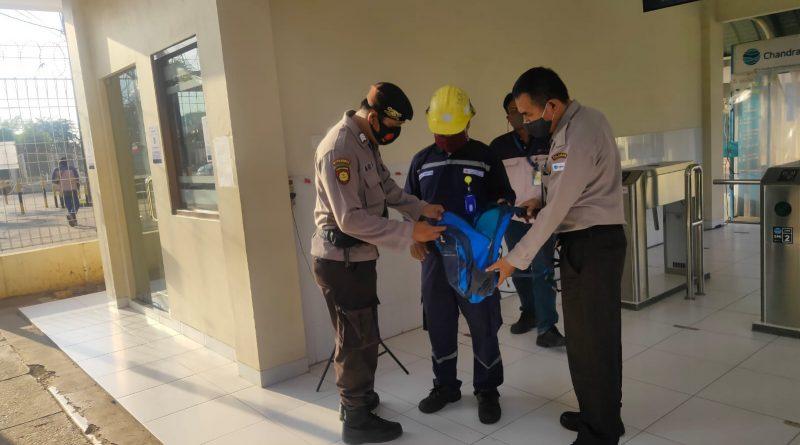 Ditpamobvit Polda Banten Lakukan Patroli Pengamanan di PT Chandra Asri