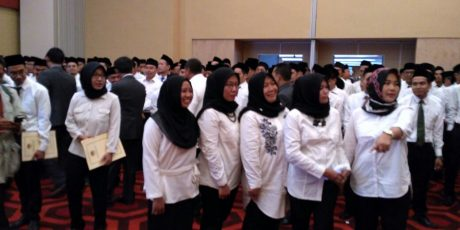 KPU Lantik Panitia Pemilihan Kecamatan Se-Kabupaten Tangerang