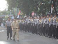 Wali Kota Pimpin Apel Peringatan HUT Bhayangkara ke 71