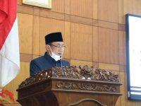 Paripurna DPRD, Walikota Cilegon Sampaikan LKPJ Tahun 2020