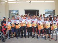 Sosialisasi Pilkada Bupati Tangerang,KPU Gelar Fun Bike