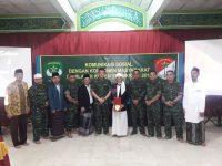 Komsos Ke Pondok Pesantren, Danrem Ajak Tokoh Agama Jaga Kondusifitas Wilayah