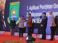 Pemkot Tangerang Raih Tiga Penghargaan Top 99 Pelayanan Publik 2019