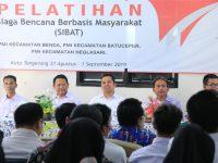 PMI Kota Tangerang Bentuk Tim Siaga Bencana Berbasis Masyarakat