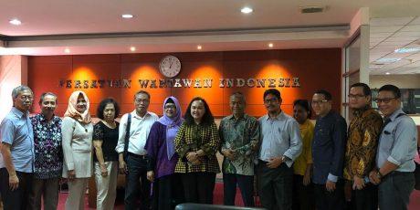 PWI Peduli dan Foodbank Siap Kerja Sama Salurkan Pangan