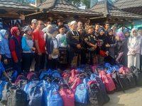Lintas Organisasi Di Lebak Bantu Korban Banjir Bandang