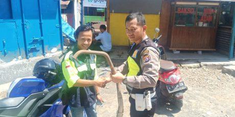 Stop Kenalpot Brong Di Gencarkan Oleh Sat Lantas Polres Cilegon