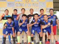 Forum Wartawan Polda Banten (FWPB) ikuti Tournament Futsal Piala NSR CUP 2020