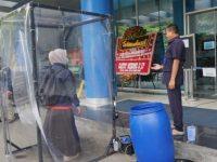 RSUD Kota Tangerang, Siapkan Bilik Disinfektan Di Pintu Masuk