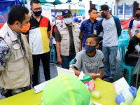 Dinkes Kota Tangerang, Lakukan Rapid Test di Pusat Keramaian
