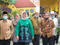 Wakil Walikota Cilegon Hadiri Peletakan Batu Pertama Pembangunan Musholla SDN Gerem 1