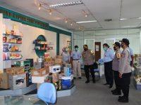 Cek Prokes Covid-19, PT. Indah Kiat Sambut Kunjungan Kapolres Serang