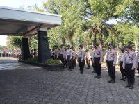 Jelang Pengundian Nomor Urut Cawalkot, The Royal Krakatau Hotel Di Jaga Ratusan Personel Polres Cilegon.
