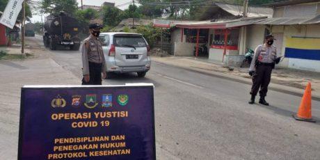 Dirtahti Polda Banten, Pimpin Ops Yustisi Gabungan di Puloampel