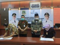 Siap Disalurkan Wagub Banten: Jamsosratu Bantu Penuhi Kebutuhan Pokok Warga Terdampak Covid-19