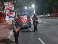 Cegah Gangguan Kamtibmas Dini Hari, Polsek Serang Patroli Dialogis