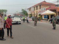 Polsek Serang Sadarkan Pengendara Tentang Prokes Lewat Operasi Pendisplinan
