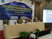 Walikota Tangsel,  Buka Uji Kompetensi dan Sertifikasi Pekerja Bidang Pariwisata