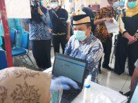 Wakil Ketua DPRD Kota Tangerang Beserta Anggota Dan Staf Terima Vaksin Tahap Pertama