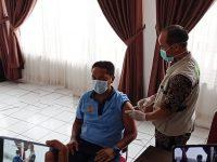Tahap II Vaksinasi Pelayan Publik, Dinkes Lebak Vaksinasi Petugas Lapas Rangkasbitung