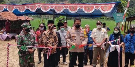 Kapolres Lebak Resmikan KTN Di Kecamatan Leuwidamar