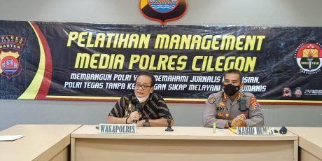 "*Ramadhan, Polda Banten Gelar Pelatihan ""Jurnalisme Kepolisian"" di Cilegon*"