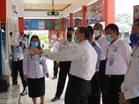 Cek Sarana dan Prasarana, Inspektur Wilayah I dan II Kemenkumham RI Kunjungi Lapas Serang