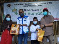 PWI Kabupaten Serang Berbagi Ramadhan, Santuni Anak Yatim