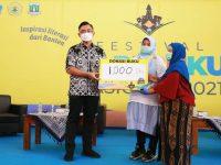 Buka Festival HBN Pertama, Wagub Andika: Banten Akan Inisiasi Regulasi Perbukuan di Daerah
