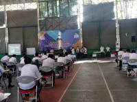 Satpol PP Amankan Tes Seleksi Bakal Calon  Kepala  Desa Kabupaten Serang