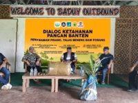 Dialog Ketahanan Pangan Banten, Penanaman Pisang, Talas Beneng Dan Porang