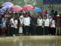 Presiden RI Joko Widodo, Meresmikan 326 Embung  di Pandeglang