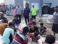 PWI Banten Bagikan Daging Qurban