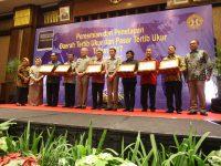 Pemerintah Kota (Pemkot) Tangerang Menerima Penghargaan Daerah Tertib Ukur Untuk Kategori Kota Besar.