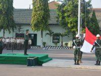 Kasiren Rem 081/DSJ : Upacara Bendera Memupuk Diri Prajurit