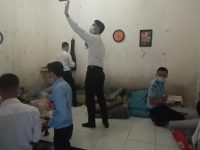 Ciptakan Kehikmatan Ramadhan, Lapas Rangkasbitung Sidak Kamar WBP