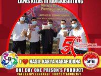 Lapas Rangkasbitung Gelar One Day One Prison's Product