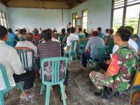 TNI Ramai Diperbincangkan Ditengah Sosialisasi Tentang TMMD reguler ke- 107