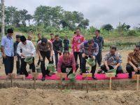 Peletakan Batu Pembangunan SAE Pondok Asimilasi Lapas Rangkasbitung