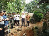 Danpos Ramil Pulosari Koramil 0106/Menes Hadiri Giat Rakoord Persiapan Pembangunan Jalan
