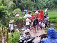 Jembatan Lintas Desa Kadurahayu Darurat