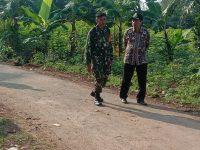 Sinergitas Pasiter Satgas TMMD  dengan Kepala Desa Kedungsari