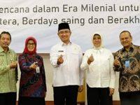 Wakil Walikota Cilegon Hadiri RAKORDA Program BANGGAKENCANA Provinsi Banten 2020
