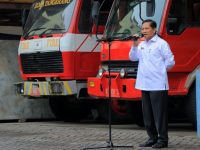 Sekda Pimpin Apel Komando Di Kantor BPBD Kota Tangerang