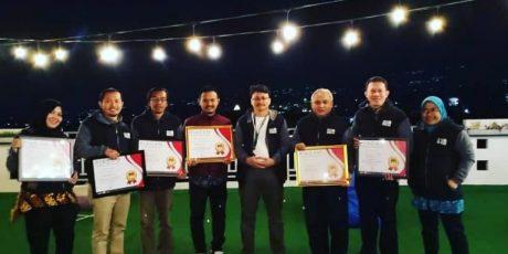 KPU Kota Tangerang Raih 6 Penghargaan Terbaik