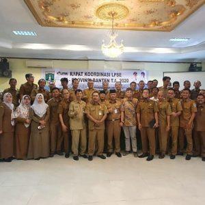 Pemprov Gelar Rakor Perkuat Standarisasi LPSE se-Banten
